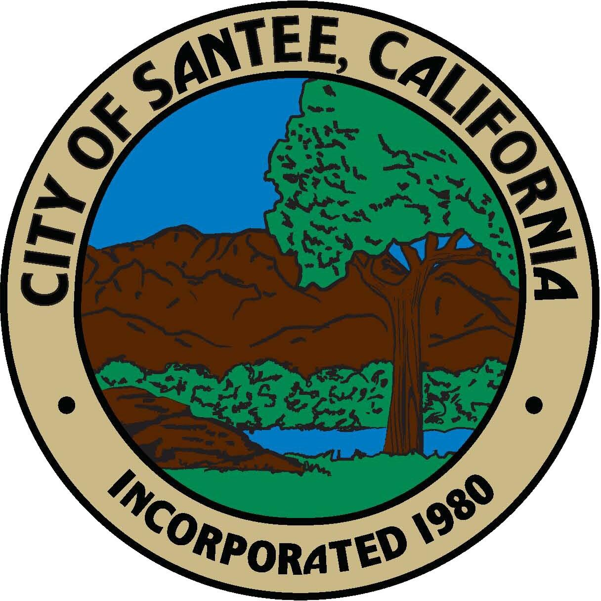 Image result for city of santee logo