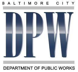 Baltimore City Department Of Public Works 164 Utility Updates  - Baltimore City Christmas Tree Pickup