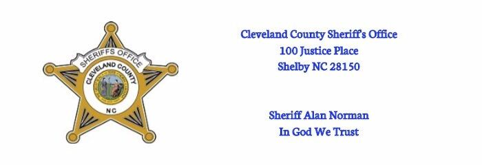Cleveland County Sheriff's Office - 6 Crime and Safety updates