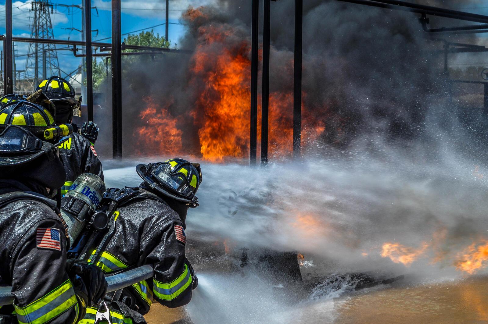 Smoke in the Tri-Valley (Livermore-Pleasanton Fire Department