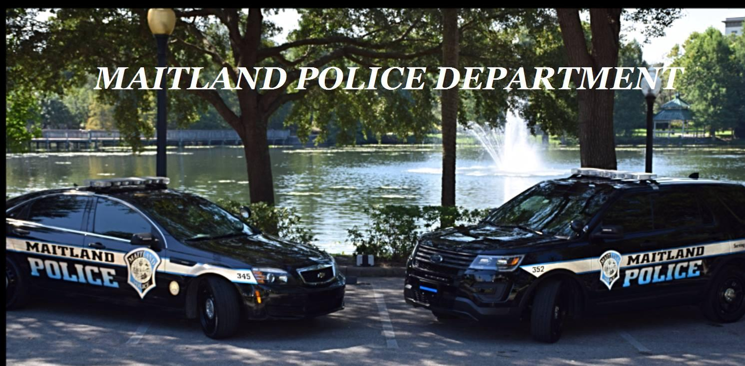Maitland Police Department - 16 Crime and Safety updates