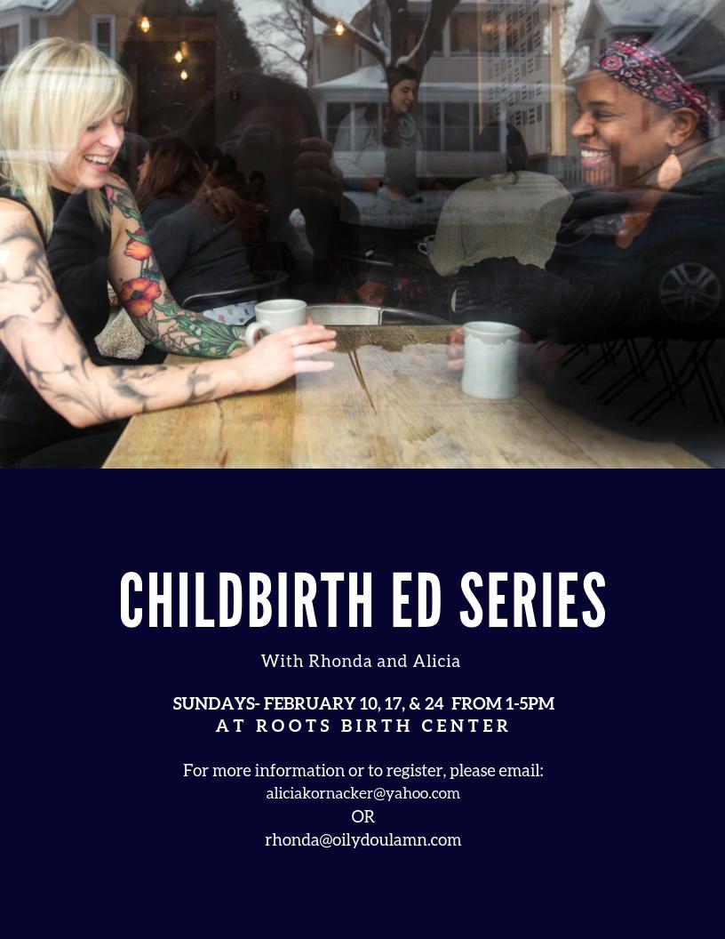 Feb 10 · Childbirth Education Series- Sundays — Nextdoor