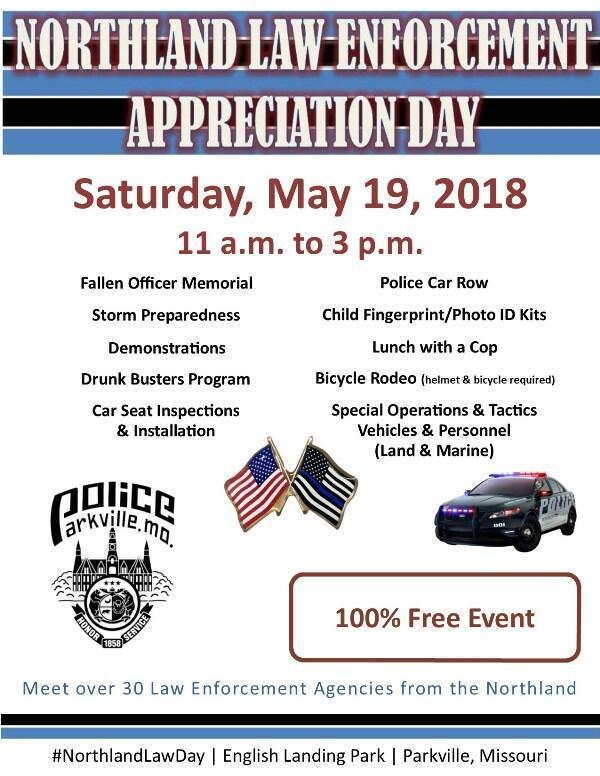 2nd Annual Northland Law Enforcement Appreciation Day