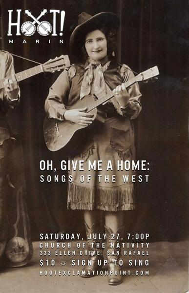 Jul 27 · Oh, Give Me a Home: Songs of the Old West -- Presented by