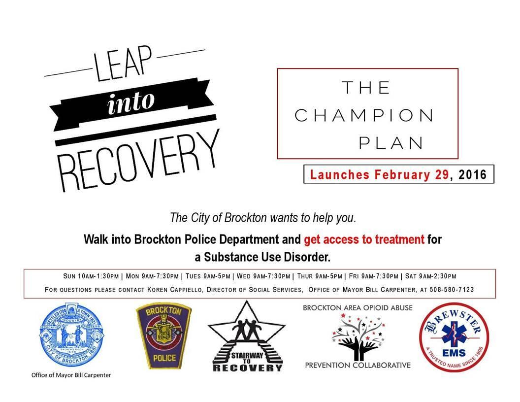 The Champion Plan (Brockton Police Department) &mdash