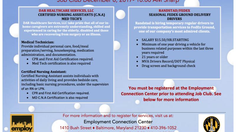 Job connection llc