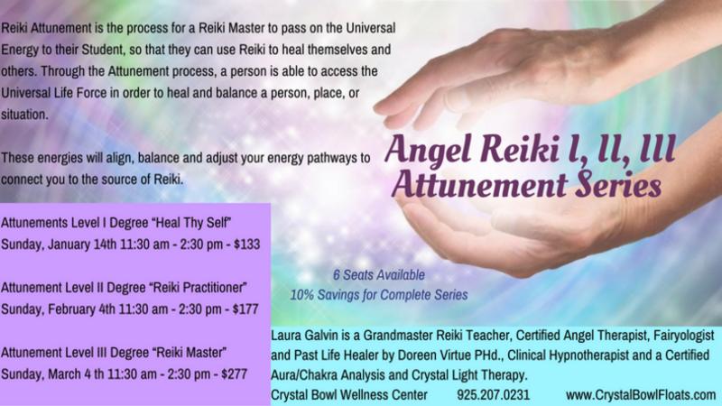 Jan 14 · Reiki I Attunement - Heal Thyself — Nextdoor