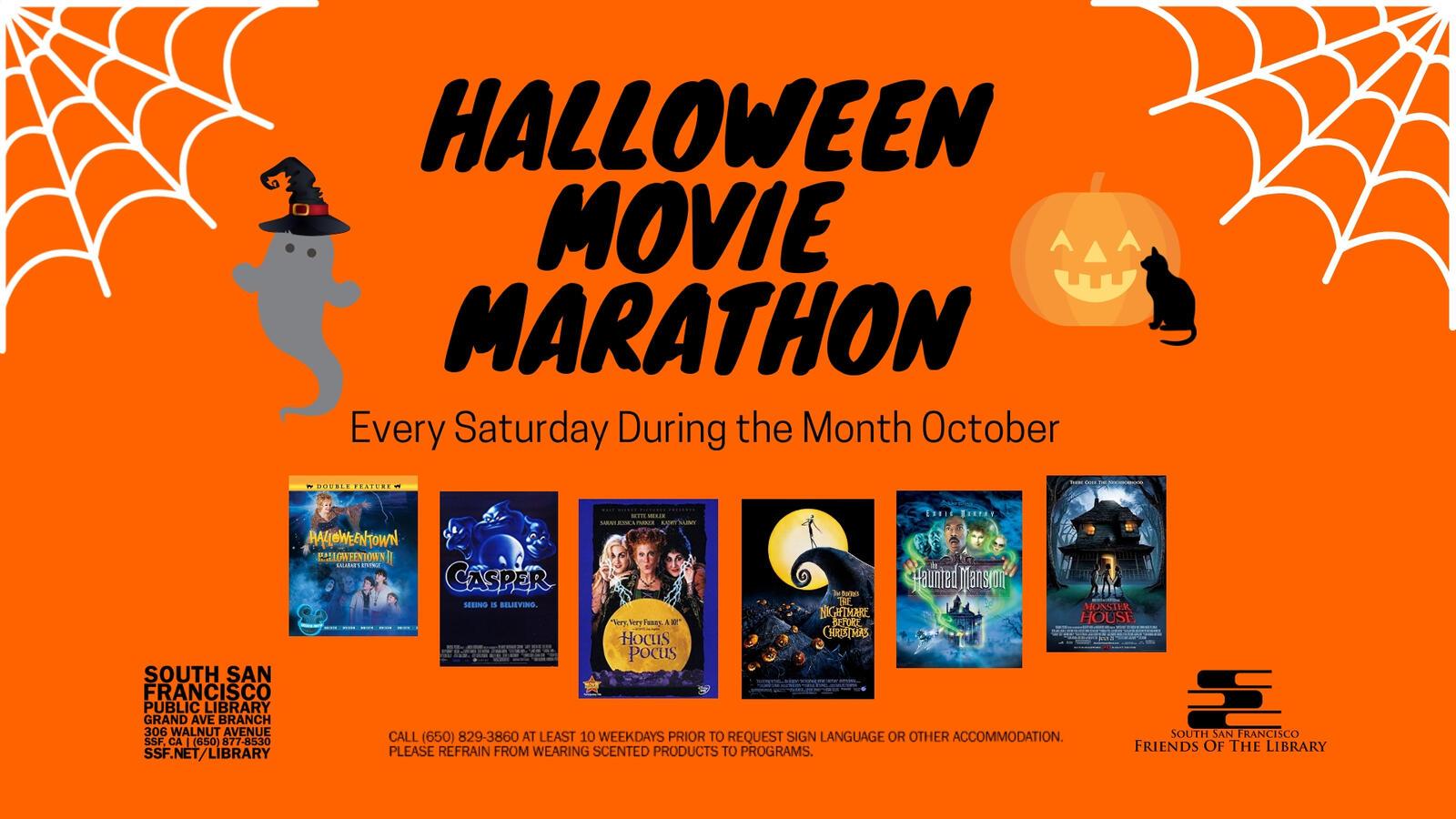 oct 6 · halloween movie marathon — nextdoor