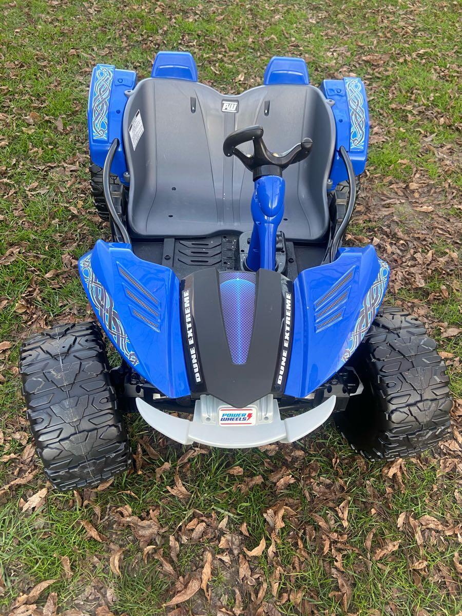 225 Brand New Power Wheels Dune Racer Extreme Blue Ride On Nextdoor