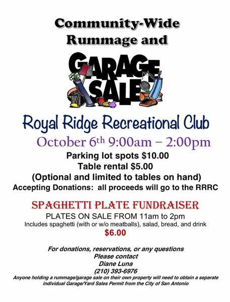 Oct 6 Community Garage Rummage Sale Nextdoor