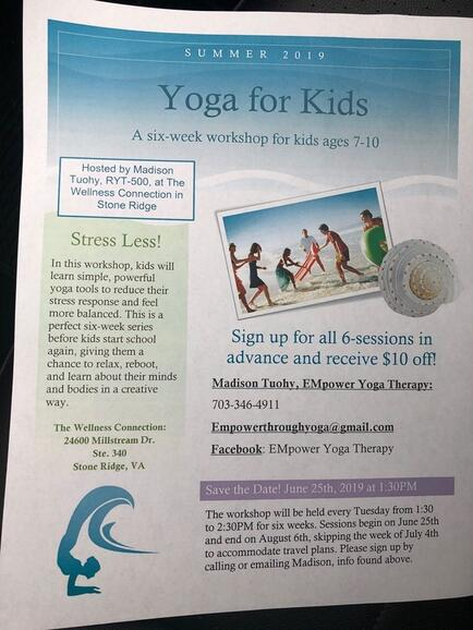 Jul 9 Kids Yoga Workshop For Anxiety Nextdoor