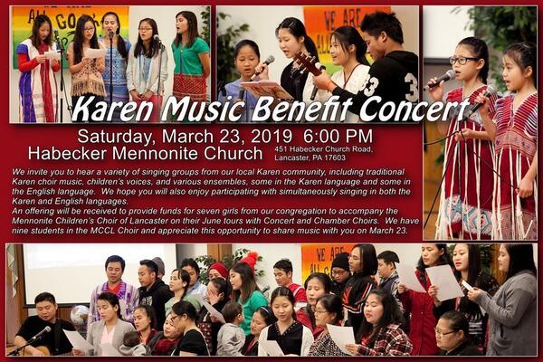 Mar 23 · Karen Music Benefit Concert — Nextdoor