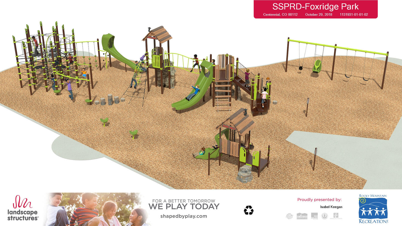 Public input needed on Foxridge Park South Suburban Park and