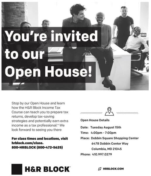 Aug 15 H R Block Come Learn About Our Tax Course Nextdoor