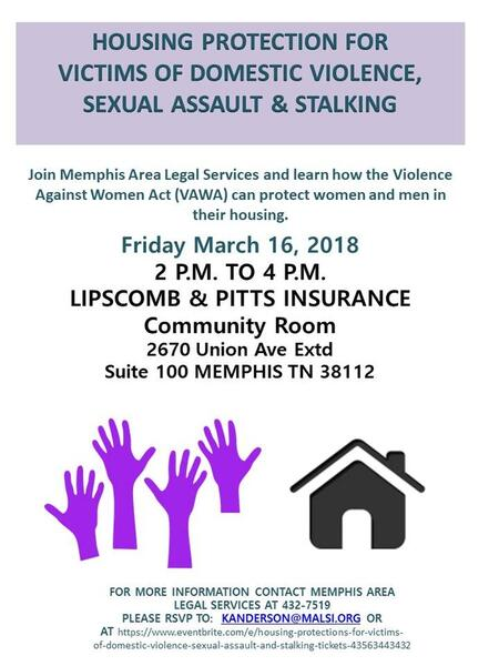 Mar 16 · Housing Protection for Victims of Domestic Violence