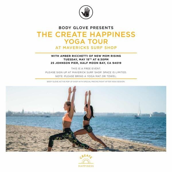 Body Glove Presents The Create Happiness Yoga Tour