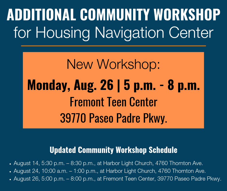 Third Date Added For Temporary Housing Navigation Center Community