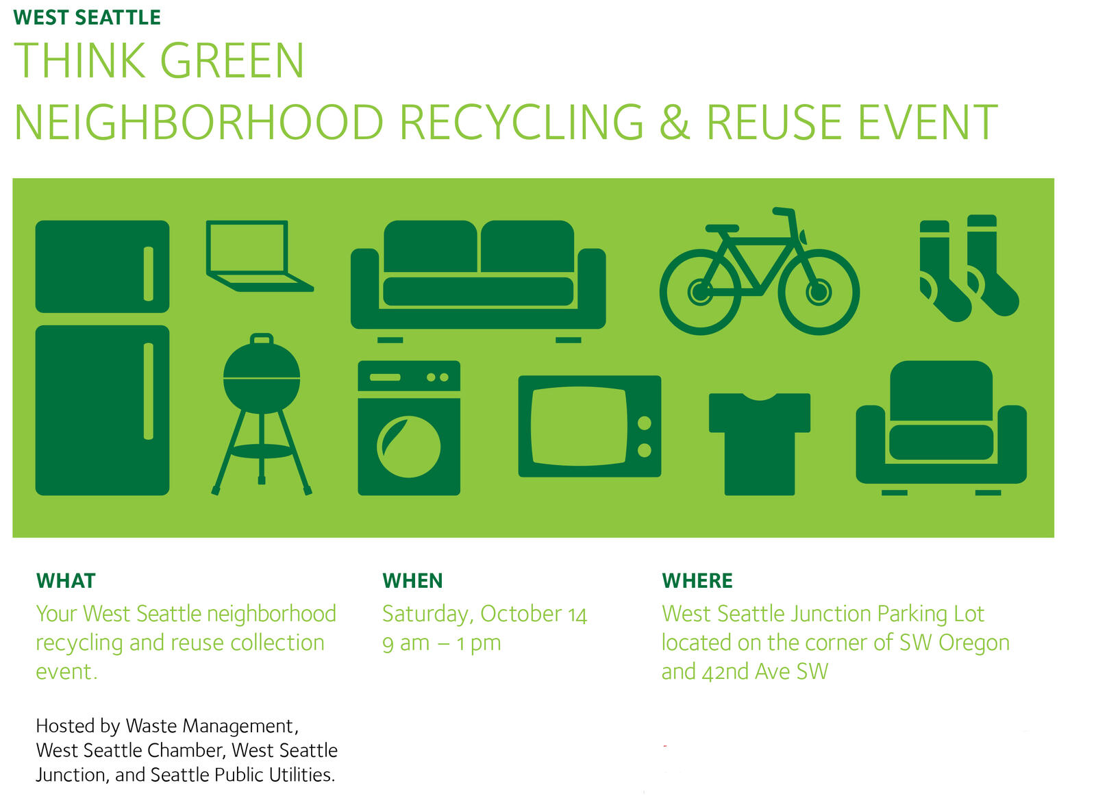 Community Recycling Event (Seattle Public Utilities) &mdash