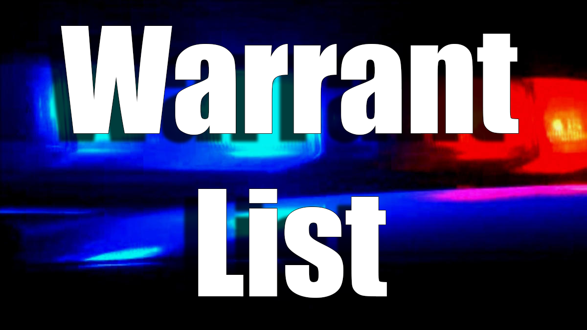 Adams County Sheriff's Office current outstanding warrants for