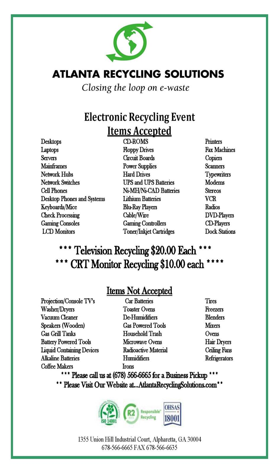 Paper Shredding And Electronics Recycling City Of Newnan Nextdoor Industry Electronic Circuit Board Background Cell Phone