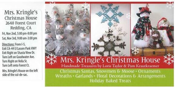 Kringles For Christmas.Nov 3 Mrs Kringle S Christmas House Boutique Nextdoor