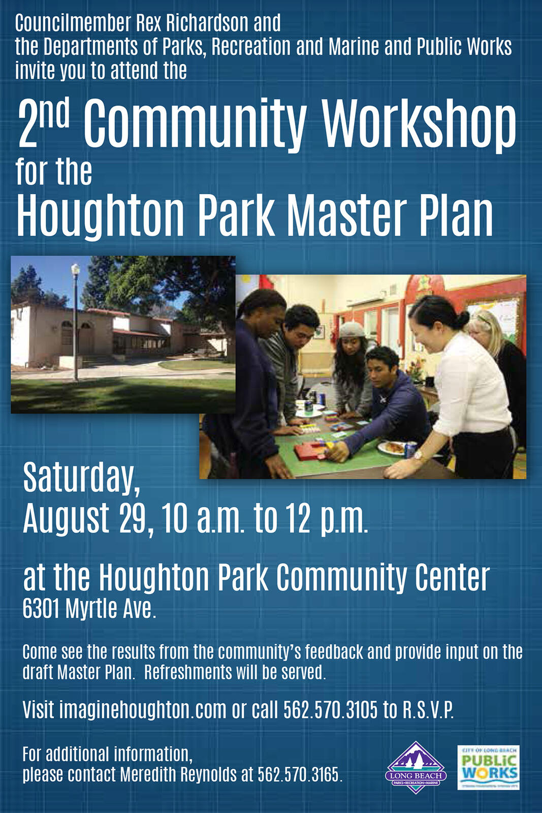 Second Community Workshop For Houghton Park Master Plan City Of Long Beach Mdash Nextdoor Nextdoor