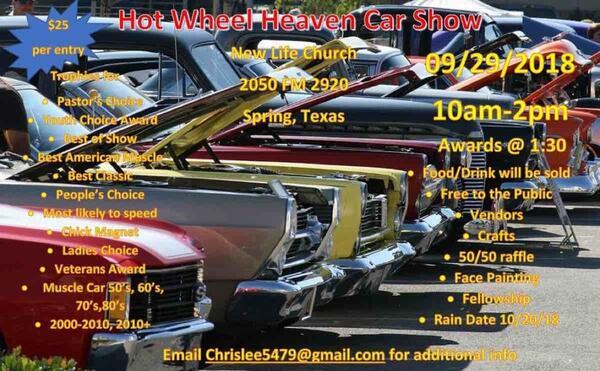 Sep Hot Wheels Heaven Car Show Nextdoor - Texas metal car show