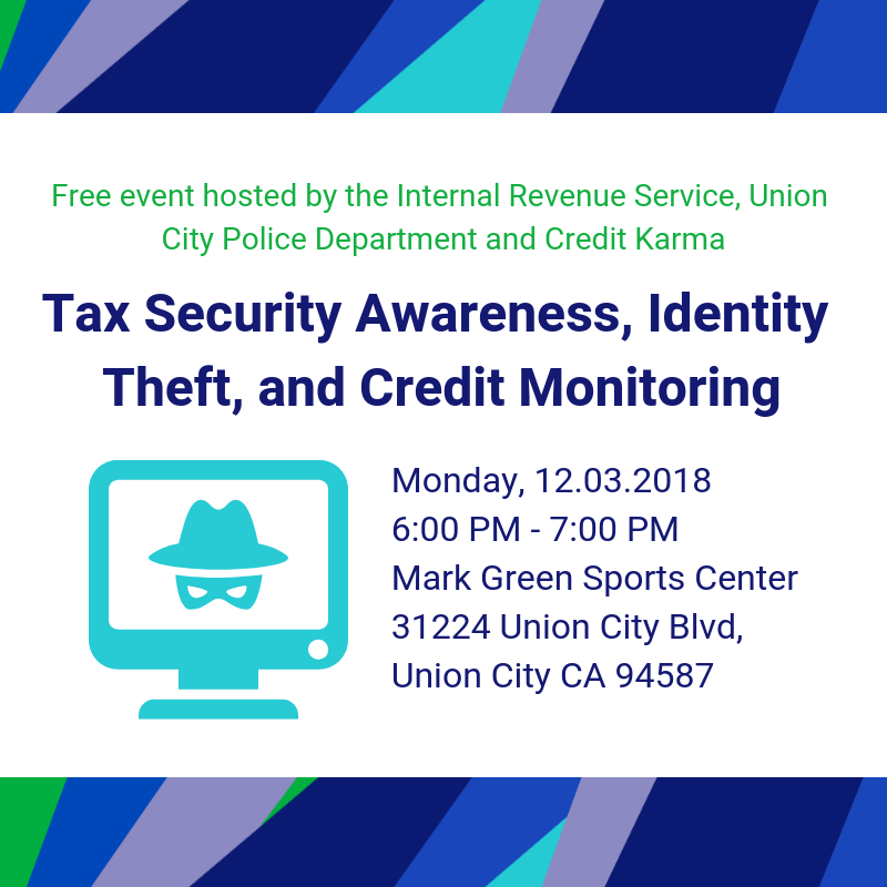 Tax Security Awareness Webinar and Presentation in Union