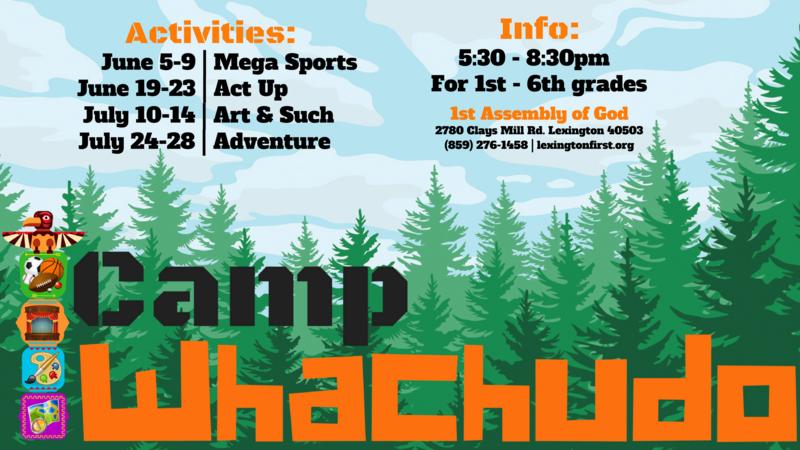 Jun 19 · Camp Whachudo: Act Up — Nextdoor