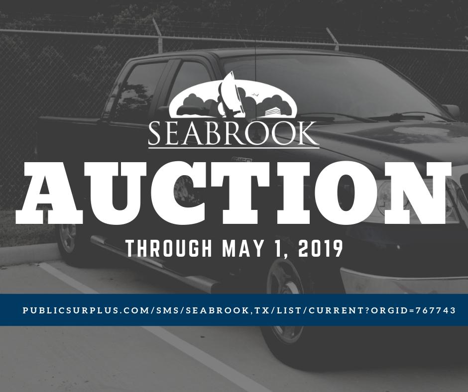 Auction (City of Seabrook) &mdash