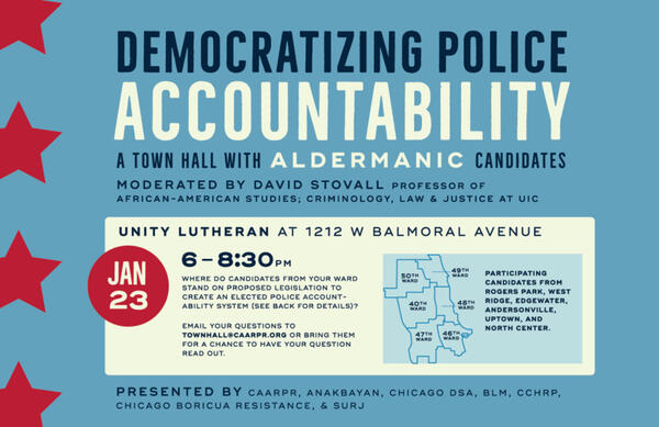 Jan 23 · Democratizing Police Accountability: A Town Hall