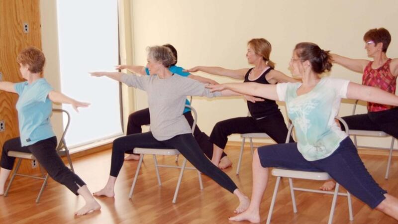 Oct 20 Free Chair Yoga Class At Washington Yoga Center Nextdoor