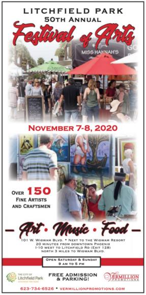 Nov 7 Litchfield Park 50th Annual Festival Of Arts Nextdoor