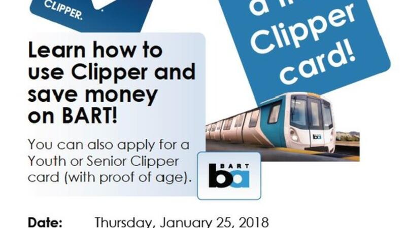 Senior clipper card