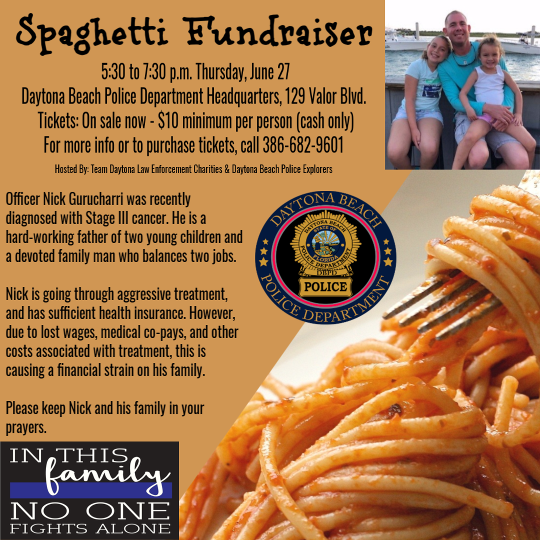 Officer Gurucharri fundraiser (Daytona Beach Police Department