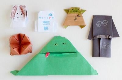 Origami Ventress Instructions | Origami Yoda | 263x400
