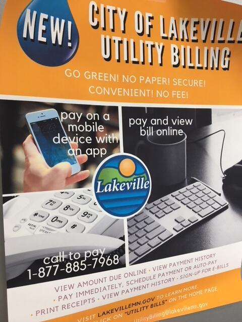 Notice Regarding Utility Bills (City of Lakeville) | Nextdoor