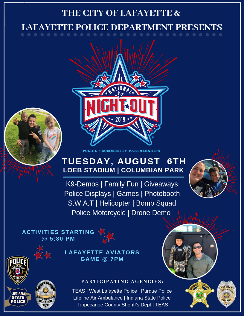 National Night Out 2019 (Lafayette Police Department) &mdash