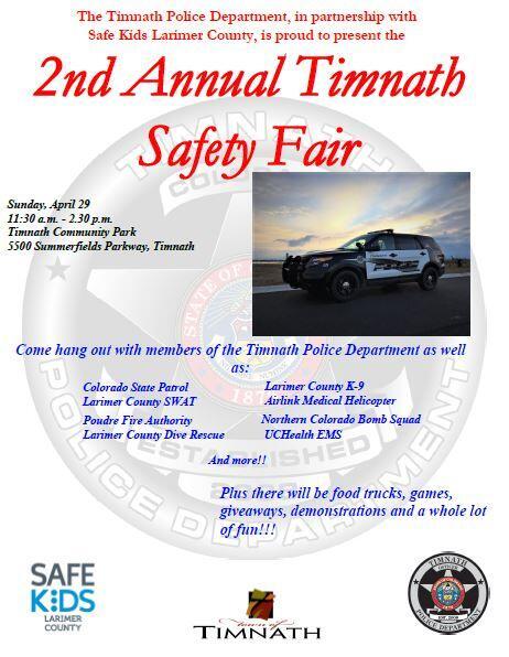 Safety Fair!!!!! (Timnath Police Department) &mdash