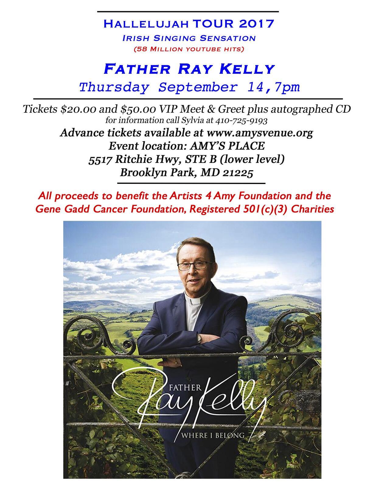 Sep 14 Father Ray Kelly Singing Priest From Ireland Nextdoor