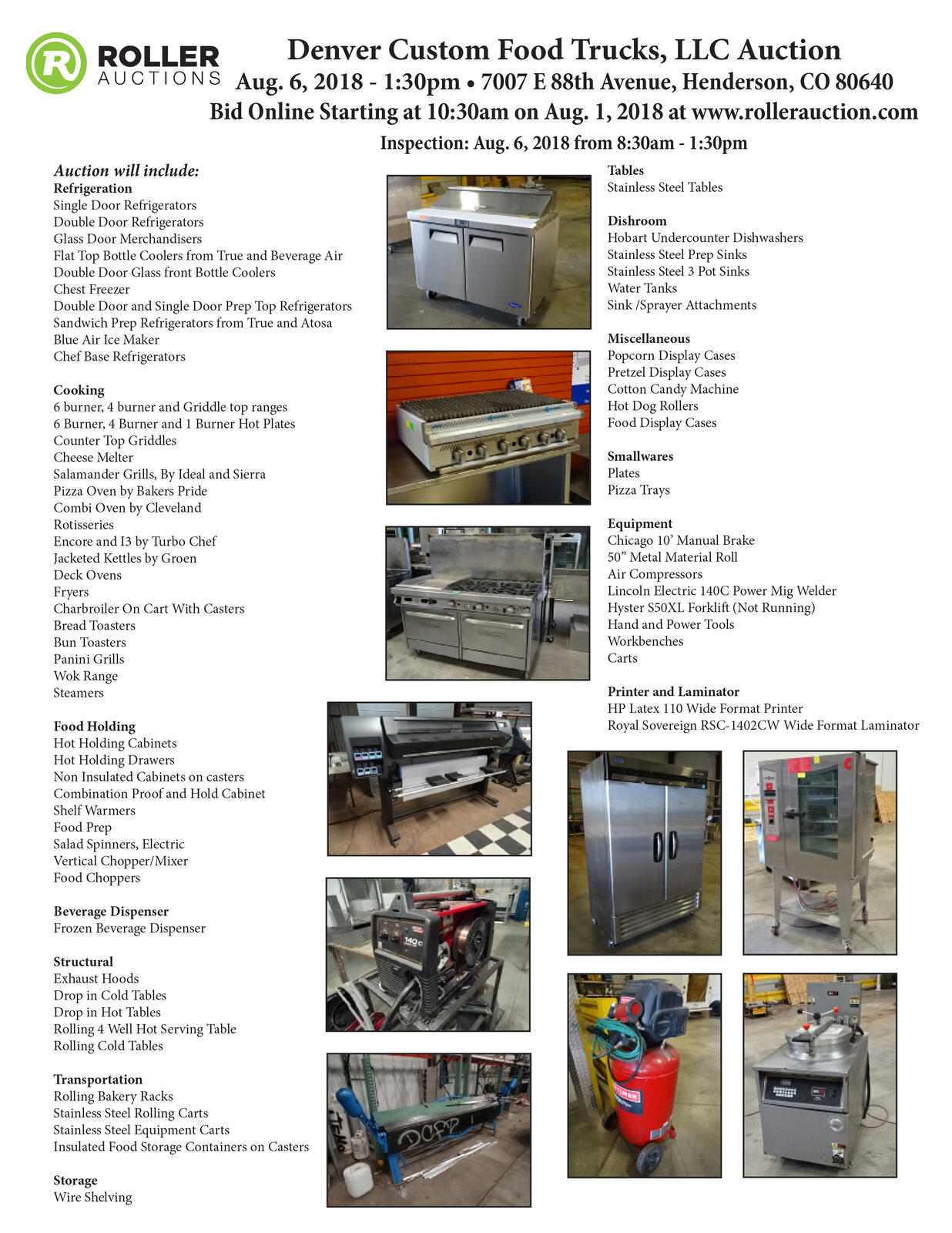 Seized Food Truck Equipment To Be Auctioned Off On August 6 City Of Hyster 30 Forklift Wiring Diagram Commerce Nextdoor
