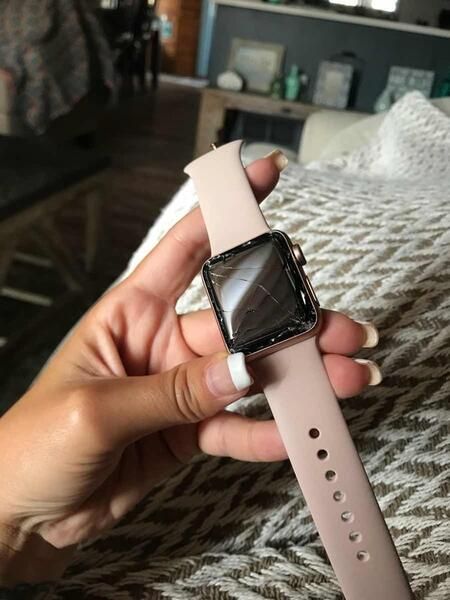 70 Apple Watch Series 3 Rose Gold And Lavender 38mm