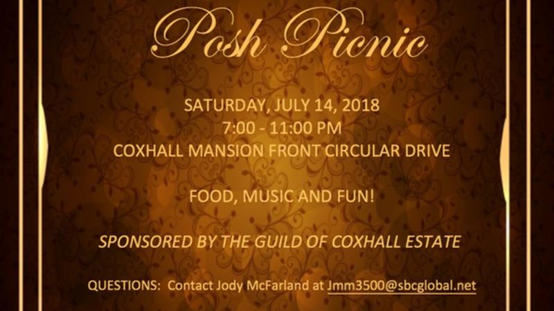 Jul 14 · Coxhall Guild Posh Picnic — Nextdoor