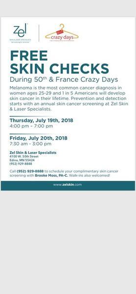 Jul 19 · Free Skin Checks! — Nextdoor