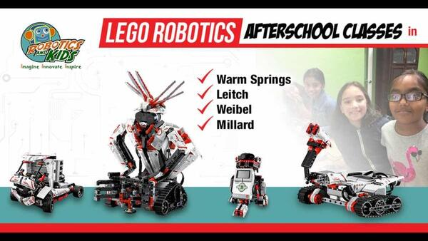 Oct 16 · AfterSchool Lego Robotics EV3 Classes at Weibel — Nextdoor
