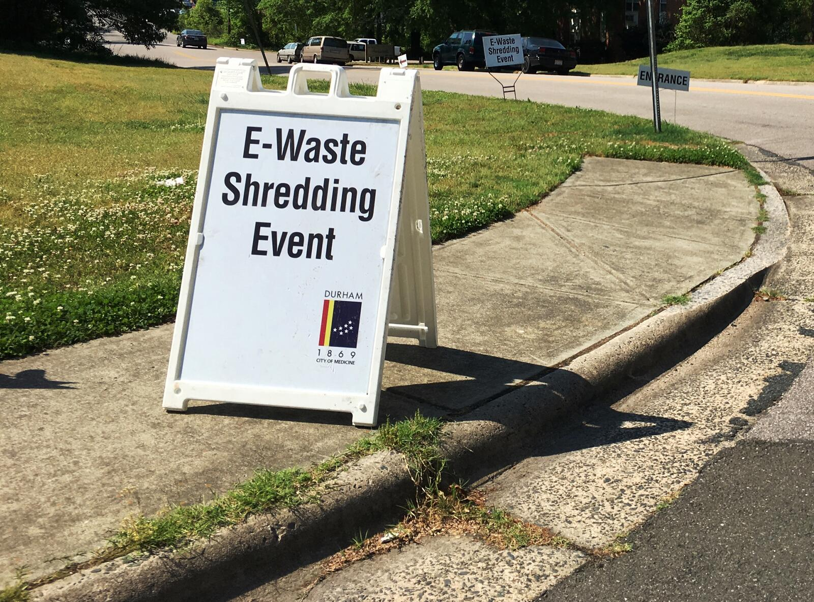 Durham Reschedules E Waste Recycling Paper Shredding Event City
