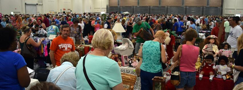 Vendor registration for South Carolina's Largest Garage Sale