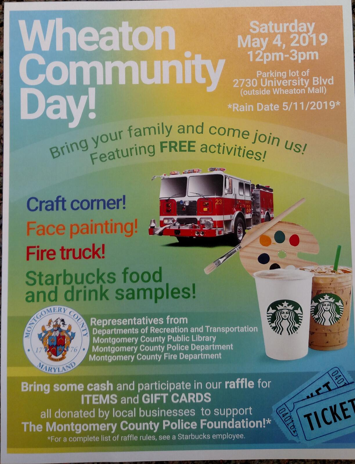 Wheaton Community Day (Montgomery County Police Department