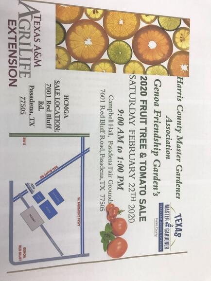 Feb 22 Harris County Master Gardener Sale Nextdoor