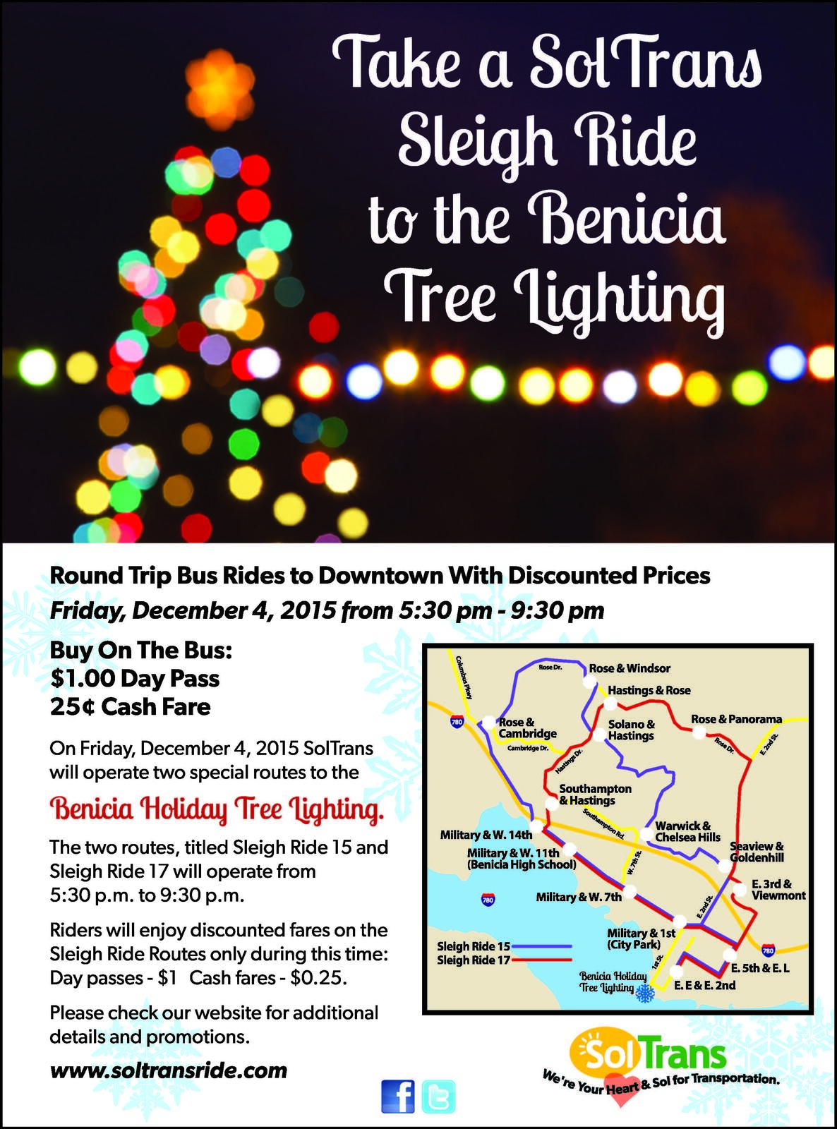 Sleigh Ride to Holiday Open House & Tree Lighting (City of